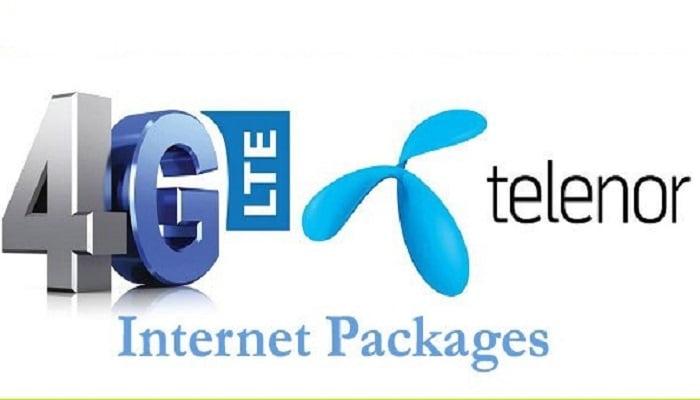 Telenor 3G/4G internet Packages
