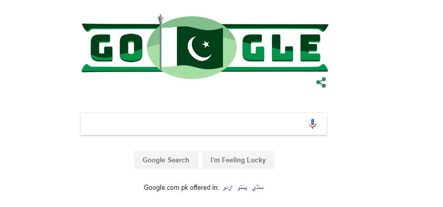 Photo of Google Celebrate Pakistan Independence Day