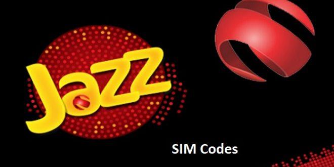 Jazz SIM Codes