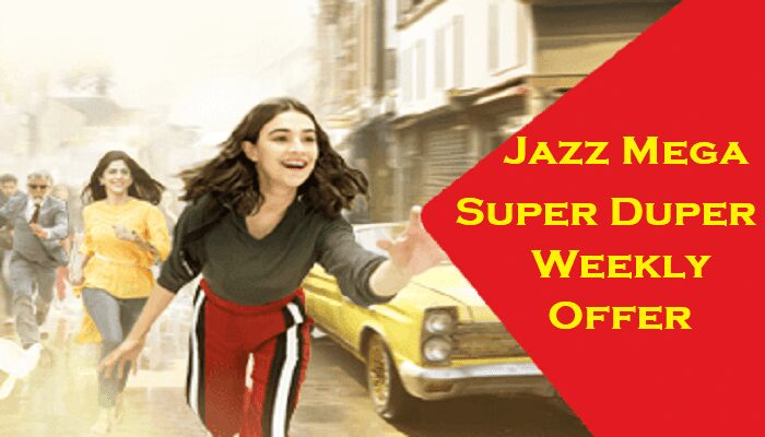 Photo of Jazz Mega Super Duper Weekly Offer