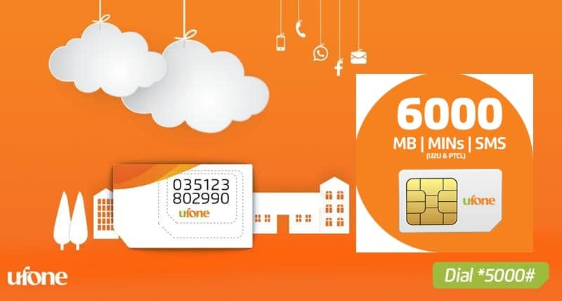 Photo of Ufone Sim Lagao Offer – Free Minutes, SMS, Internet