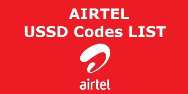Airtel USSD Codes, Airtel Balance Check Code