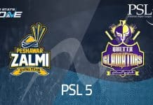 Peshawar Zalmi vs Quetta Gladiator PSL 2020 Live Streaming