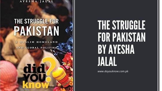 The struggle for Pakistan by Ayesha Jalal pdf