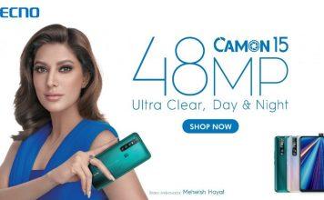Tenco Camon 15 Price in Pakistan