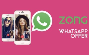 Zong Whatsapp Packages - Daily, Weekly & Monthly