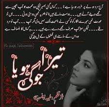 Photo of Tera Jogi Hoya Novel by Taiba Zainab