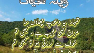 Photo of Zeenia Hayat by Umm Umair Novel