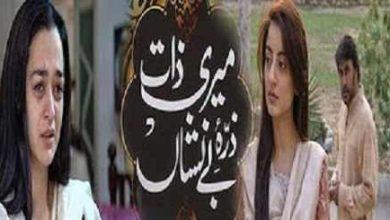 Photo of Meri Zaat Zara E Benishan Novel by Umera Ahmed