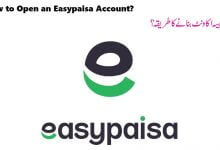 Photo of How to Open An Easypaisa Account? All you Need to Know About Easypaisa